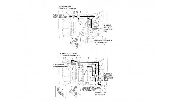 VACUUM SYSTEM (R.H. Drive)