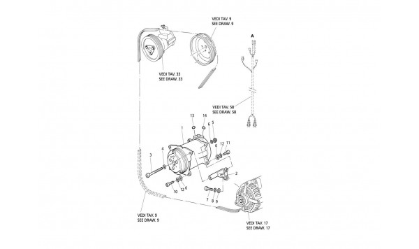AIR COMPRESSOR AND BRACKET