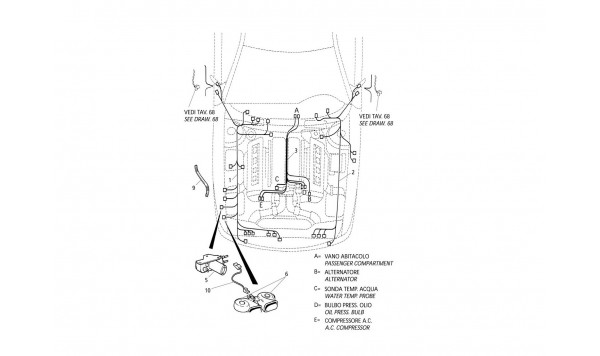ELECTRICAL SYSTEM: ENGINE COMPARTMENT (L.H. Drive)