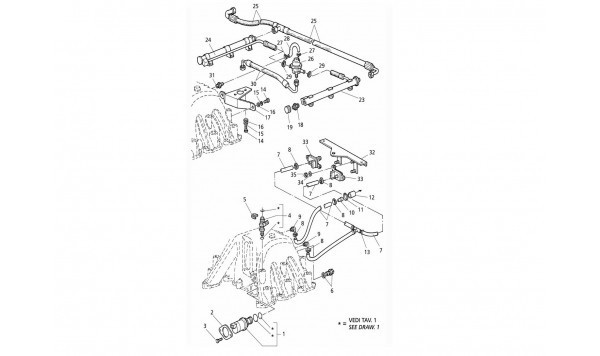 INTAKE MANIFOLD AND INIJECTION SYSTEM