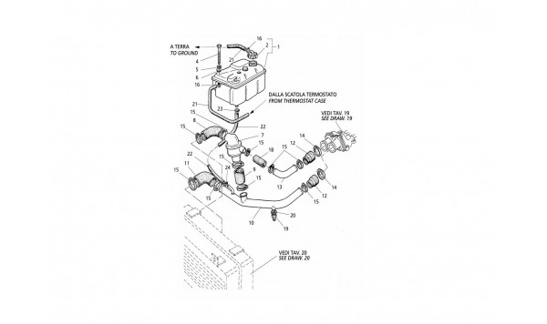 ENGINE COOLING SYSTEM AND THERMOSTAT