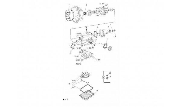 AUTOMATIC TRANSMISSION - INTERNAL PARTS