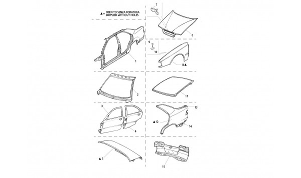 BODY SHELL: OUTER PANELS