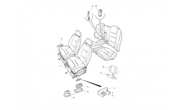 SEATS: STRUCTURES AND ACCESSORIES