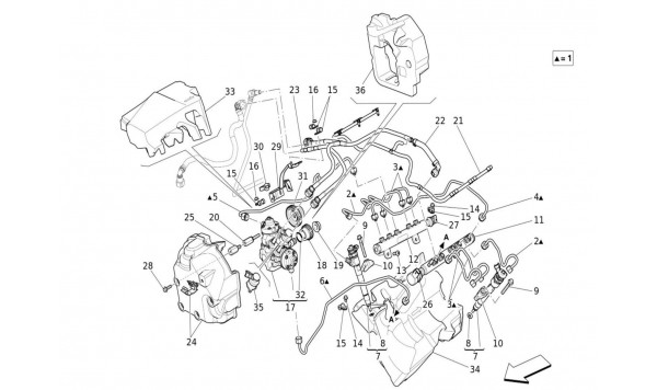 FUEL PUMPS AND CONNECTION LINES