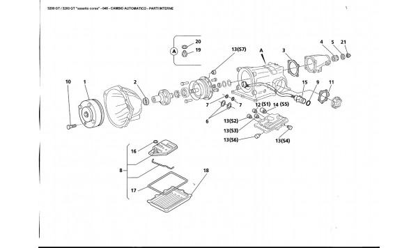 AUTOMATIC TRANSMISSION - INTERNAL PARTS