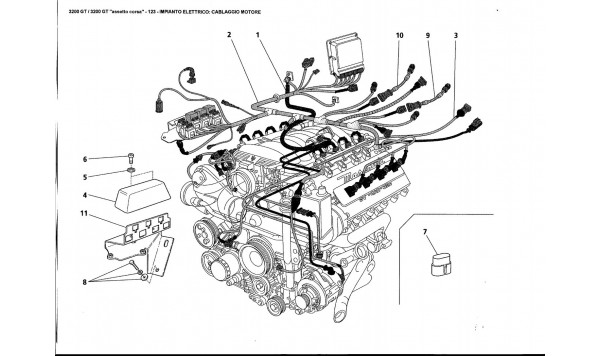 ELECTRICAL SYSTEM: ENGINE HARNESS