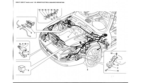 ELECTRICAL SYSTEM: ENGINE COMPARTMENT HARNESS