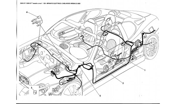 ELECTRICAL SYSTEM: AIRBAG AND ABS HARNESS
