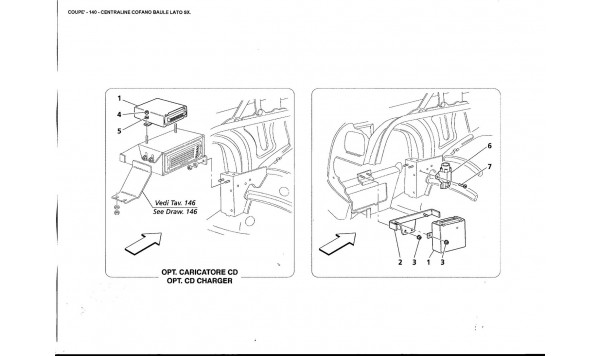 L.H. SIDE TRUNK BONNET CONTROL UNIT