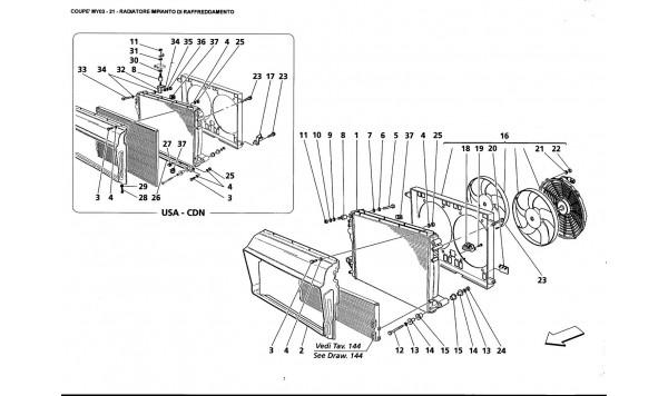 COOLING SYSTEM RADIATOR
