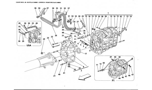 GEARBOX - COVER - GEARBOX OIL RADIATOR