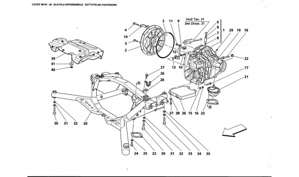 DIFFERENTIAL BOX - REAR UNDERBODY
