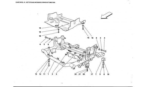 FRONT UNDER FRAME AND UNDERMOTOR SHIELDS