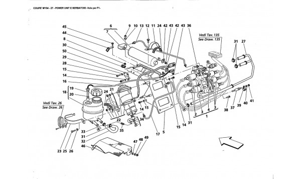 POWER UNIT AND TANK -Valid far F1-