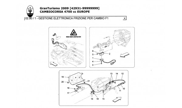 ELECTRONIC CLUTCH CONTROL FOR Fl GEARBOX