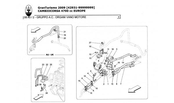 A/C UNIT: ENGINE COMPARTMENT DEVICES