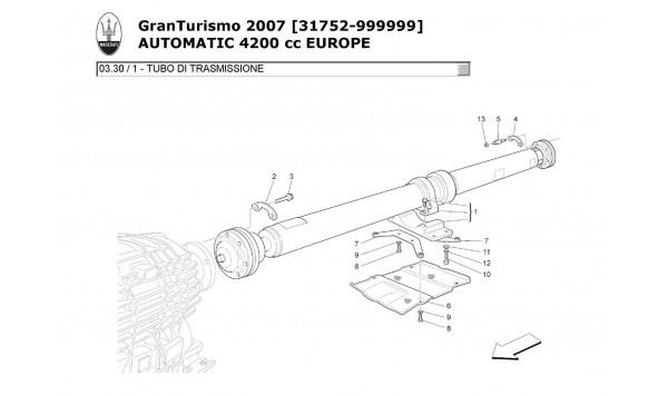 TRANSMISSION PIPE