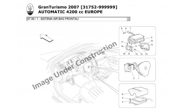 FRONT AIRBAG SYSTEM