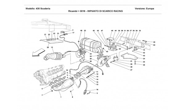 RACING EXHAUST SYSTEM