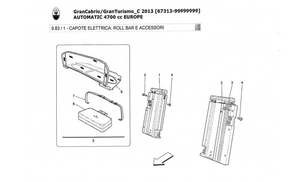 ELECTRICAL CAPOTE: ROLL BAR AND ACCESSORIES