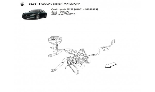 COOLING SYSTEM: WATER PUMP