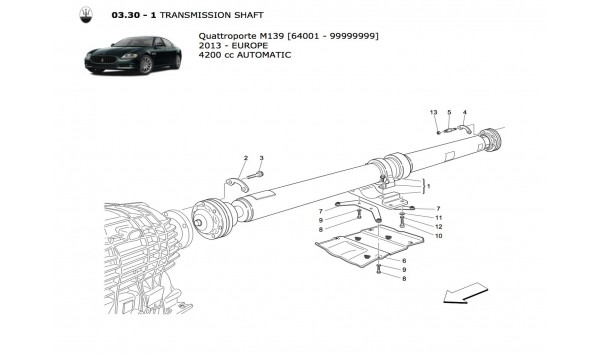TRANSMISSION SHAFT