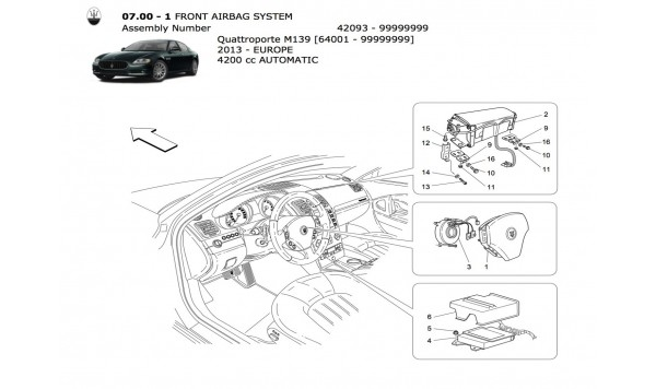 FRONT AIRBAG SYSTEM O