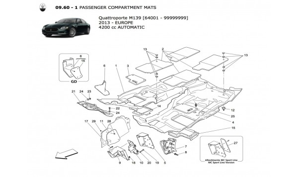 PASSENGER COMPARTMENT MATS