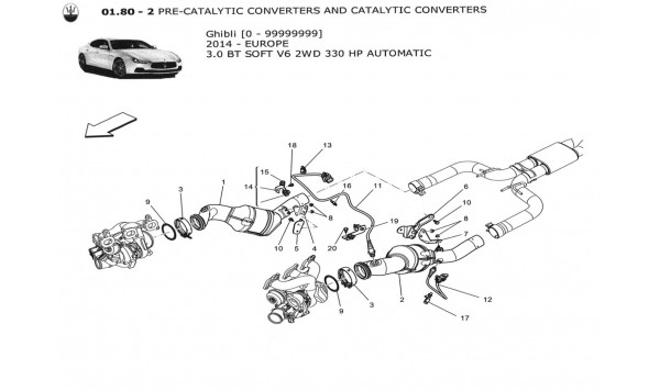 PRE-CATALYTIC CONVERTERS AND CATALYTIC CONVERTERS