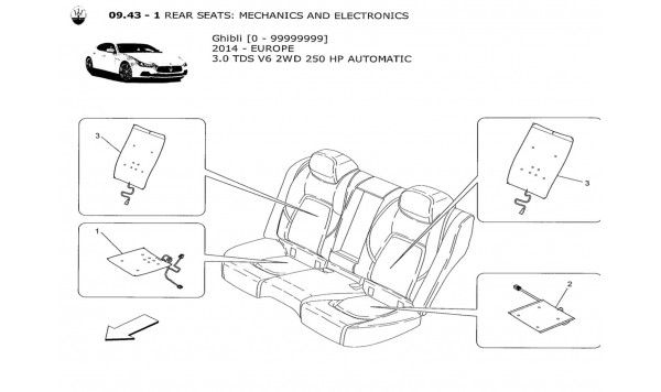 REAR SEATS: MECHANICS AND ELECTRONICS
