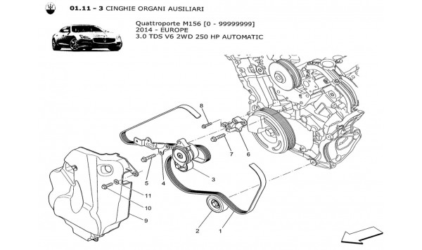AUXILIARY DEVICE BELTS