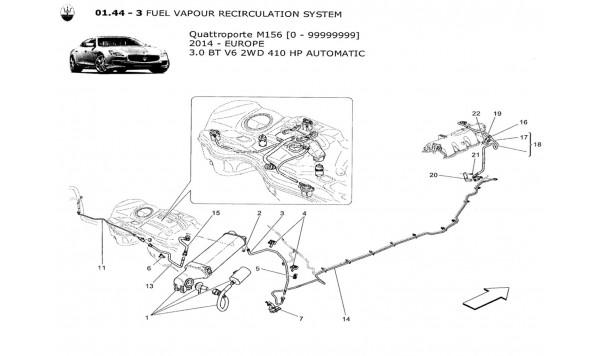 FUEL VAPOUR RECIRCULATION SYSTEM £