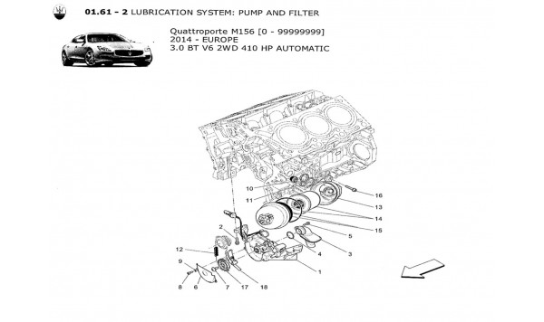LUBRICATION SYSTEM: PUMP AND FILTER