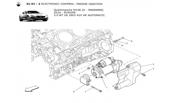 ELECTRONIC CONTROL: ENGINE IGNITION