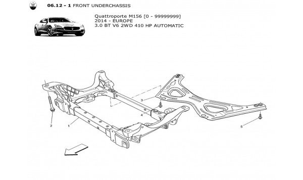 FRONT UNDERCHASSIS