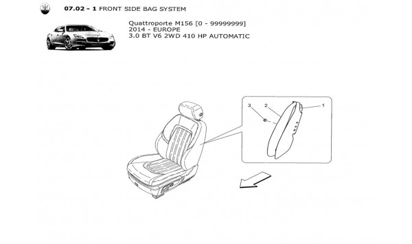 FRONT SIDE BAG SYSTEM
