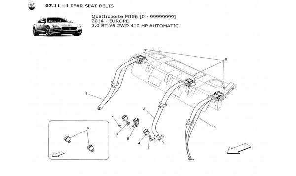 REAR SEAT BELTS