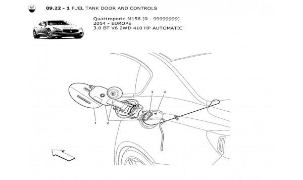 FUEL TANK DOOR AND CONTROLS