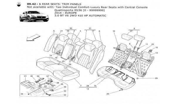 REAR SEATS: TRIM PANELS