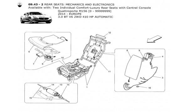 REAR SEATS: MECHANICS AND ELECTRONICS