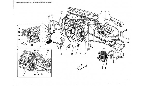 AC. GROUP: DASHBOARD PARTS