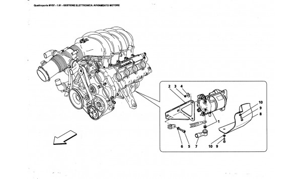 ELECTRONIC CONTROL: ENGINE STARTING