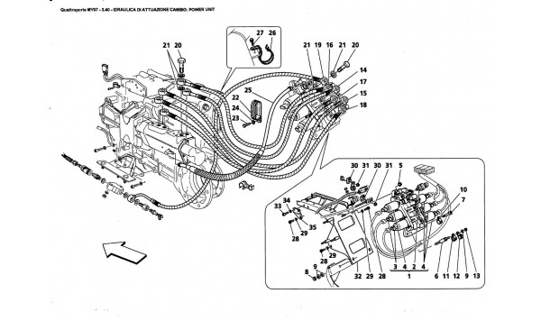 GEARBOX CONTROL HYDRAULICS: POWER UNIT