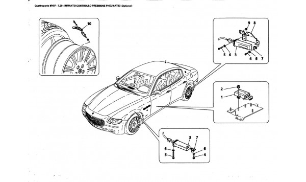 TYRES PRESSURE CONTROL SYSTEM -Optional-