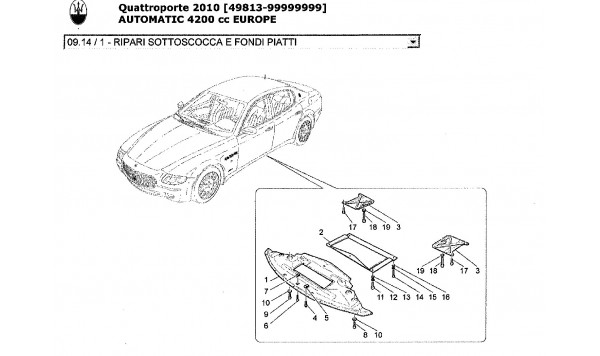 UNDERBODY AND UNDERFLOOR GUARDS