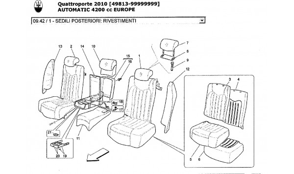 REAR SEATS: TRIM PANELS