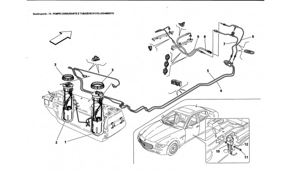 FUEL PUMPS AND PIPING