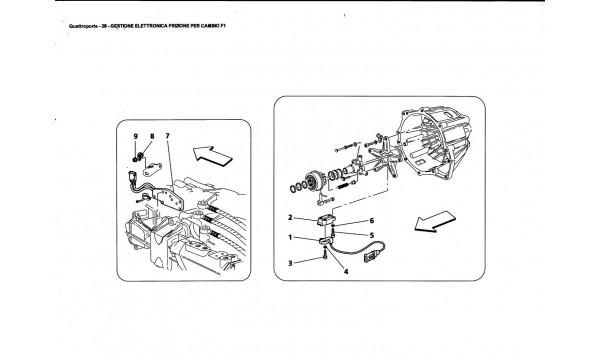 CLUTCH ELECTRONIC CONTROLS FOR F1 GEARBOX