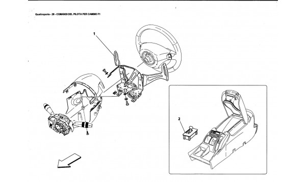 DRIVER CONTROLS FOR F1 GEARBOX